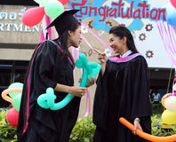 Graduates Royalty Free Stock Photography