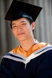 Graduates in Hallway Stock Image