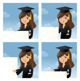 Graduates Message Stock Photography