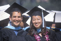 Graduates of UCLA's class of 2002 Stock Photo