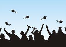Graduatie royalty-vrije illustratie