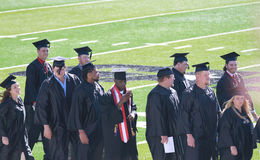 Graduatie, de Noordwestelijke Universiteit van de Staat van Oklahoma Royalty-vrije Stock Foto's