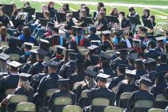 Graduatie, de Noordwestelijke Universiteit van de Staat van Oklahoma Stock Foto