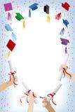 Graduatie GLB Royalty-vrije Illustratie
