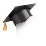 Graduatie GLB op Document Hoek stock illustratie