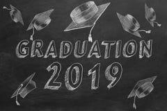 Graduatie 2019 royalty-vrije illustratie