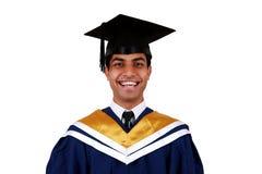 Graduatie met het knippen van weg royalty-vrije stock foto's