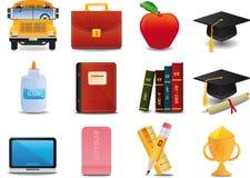 Graduatie, Universiteit en Onderwijs Royalty-vrije Stock Afbeelding