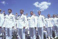 Graduatie van de Academie van de V.S. de Zee Stock Afbeeldingen