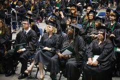 Graduatieceremonie Royalty-vrije Stock Afbeelding