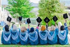Graduatiedag stock foto