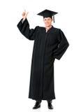 Graduatiekerel Stock Foto's