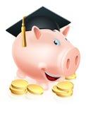 Graduatiespaarvarken Stock Foto