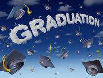 Graduatieviering Stock Afbeeldingen