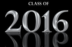Graduating Class of 2016 Royalty Free Stock Images