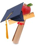 Graduating concept Stock Photography