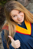 Graduating girl Stock Photos