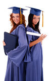 Graduating girls Stock Images