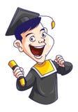 Graduating man Royalty Free Stock Photography