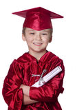 Graduating from preschool Royalty Free Stock Image