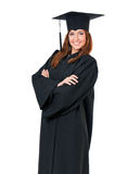 Graduating student girl Stock Image