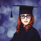 Graduating student Stock Photography