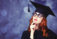 Graduating student Royalty Free Stock Image
