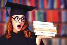 Graduating student Royalty Free Stock Photography