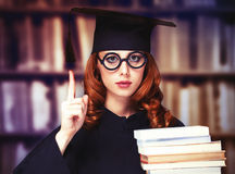 Graduating student Stock Images