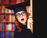Graduating student Royalty Free Stock Photos