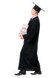 Graduating student man Stock Image