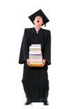 Graduating student man Stock Photos