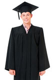 Graduating student man Royalty Free Stock Photo