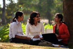 Graduating students stock photos