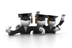 Graduating Students Stock Image