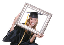 Graduating Woman Stock Images