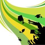 Graduation. Abstract style graduation vector illustration Stock Photo