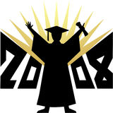 Graduation 2008/eps. Illustration depicting a 2007 graduate in silhouette...eps available Royalty Free Stock Images