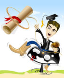 Graduation Illustration Stock
