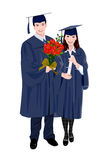 A graduation Royalty Free Stock Photos