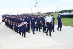 Graduation 3 du garde côtier des USA Photos stock