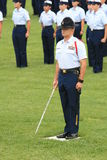 Graduation 4 du garde côtier des USA Images libres de droits