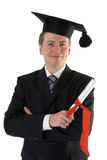 Graduation. A graduation for a young man Stock Photography
