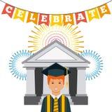 Graduation achievement design Royalty Free Stock Photos