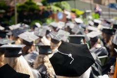 Graduation all'aperto Fotografia Stock Libera da Diritti