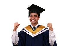 Graduation avec le chemin de découpage Photos stock