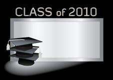 Graduation avec le mortier Image stock