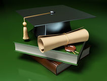 Graduation background Royalty Free Stock Images