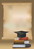 Graduation background Royalty Free Stock Photography