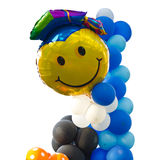 Graduation balloons Royalty Free Stock Photos